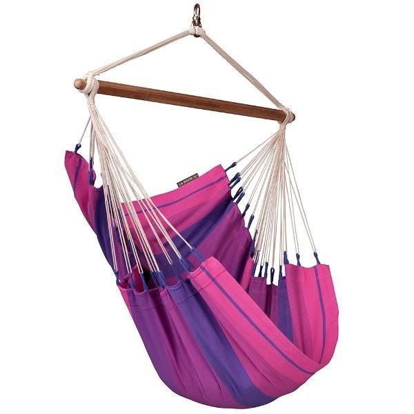 Houpací sedačka La Siesta Orquidea single Barva: Purple