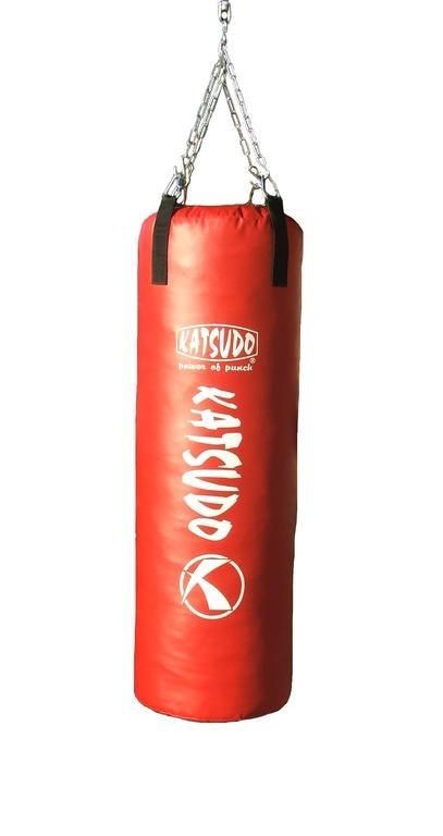 Boxovací pytel Katsudo 120 x 40 cm Barva: červená