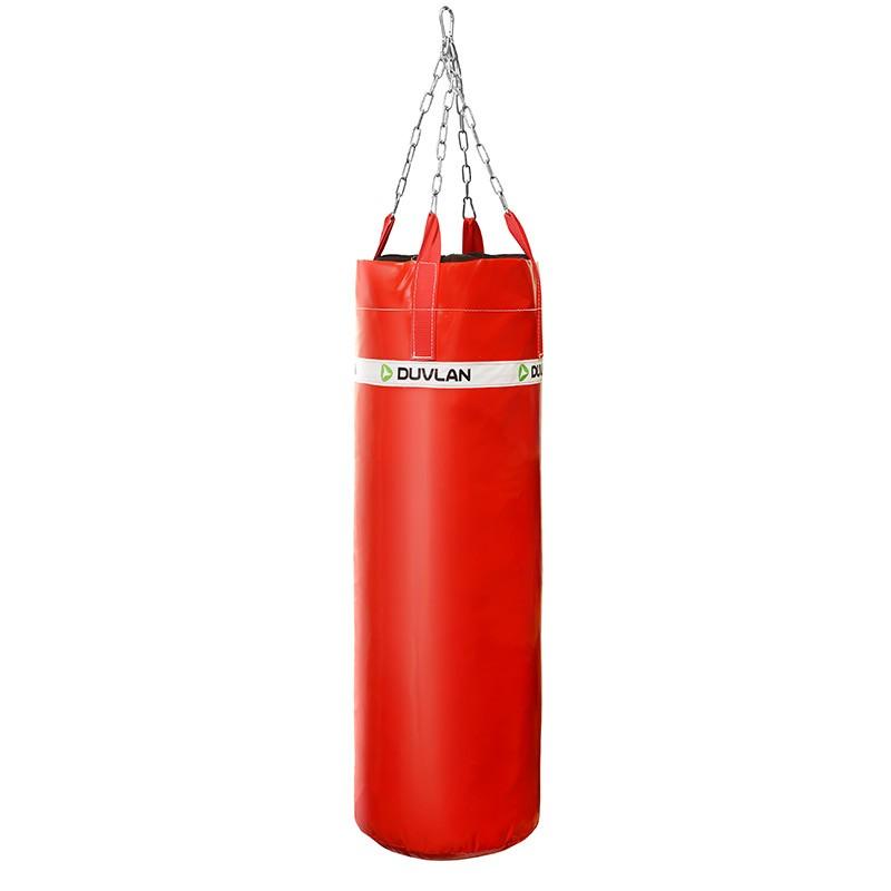 Boxovací pytel DUVLAN 120 x 40 cm Barva: červená