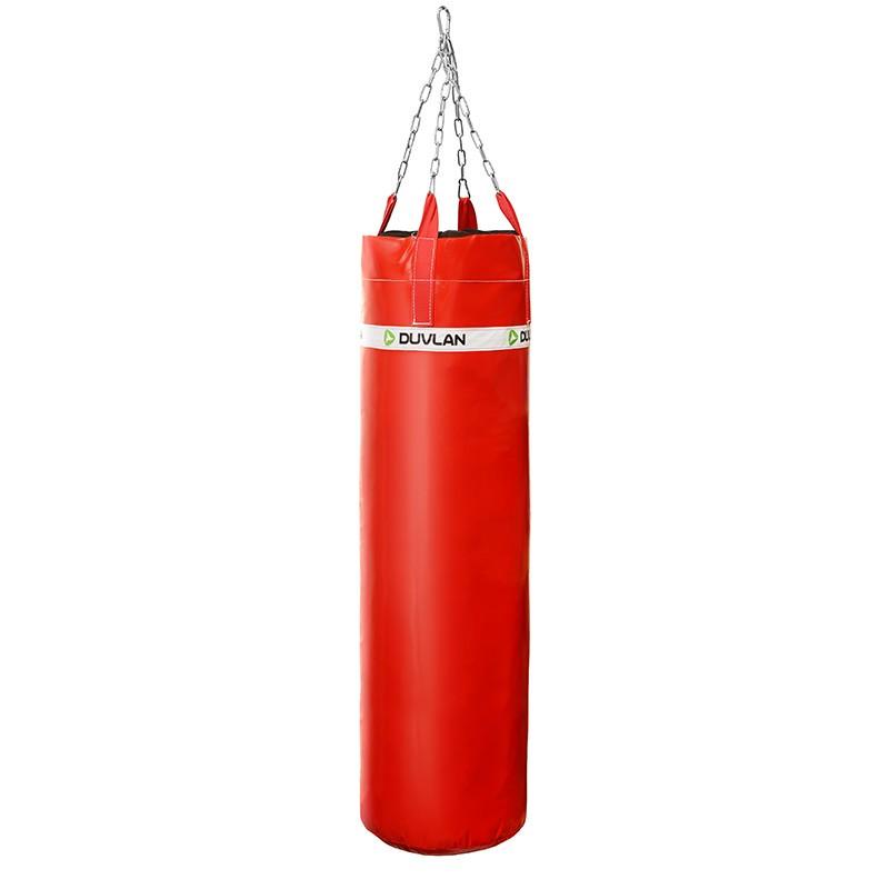 Boxovací pytel DUVLAN 140 x 40 cm Barva: červená