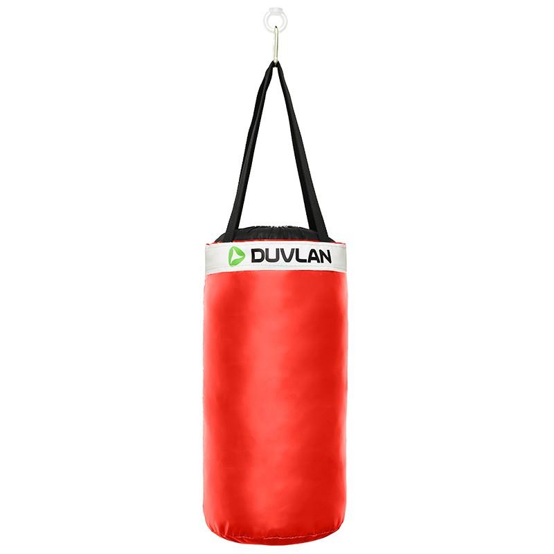 Dětský boxovací pytel DUVLAN 50 x 25 cm Barva: červená