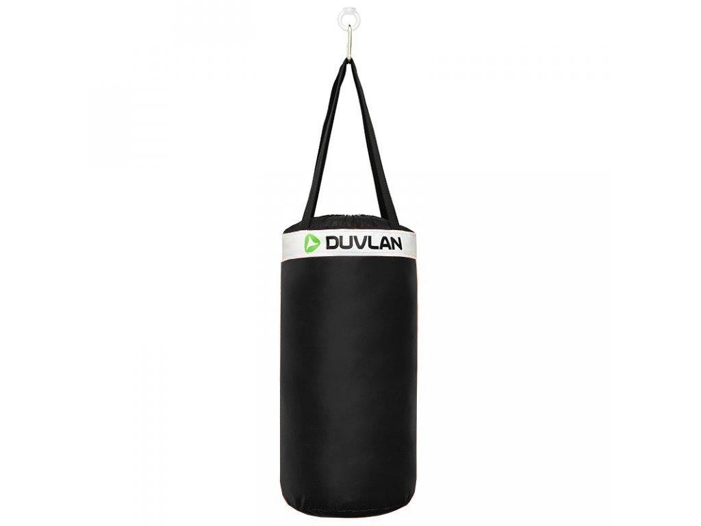 Dětský boxovací pytel DUVLAN 50 x 25 cm Barva: černá