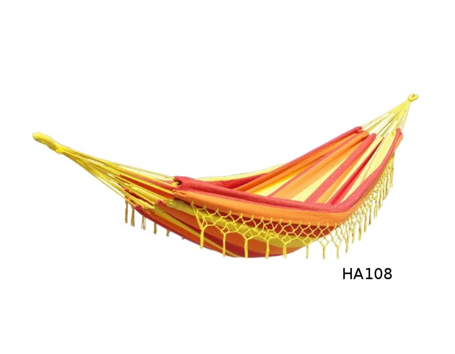 Houpací síť DUVLAN s krajkou 220 x 130 cm Barva: HA108
