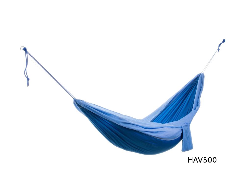 Cestovní houpací síť DUVLAN 220 x 140 cm Barva: HAV500
