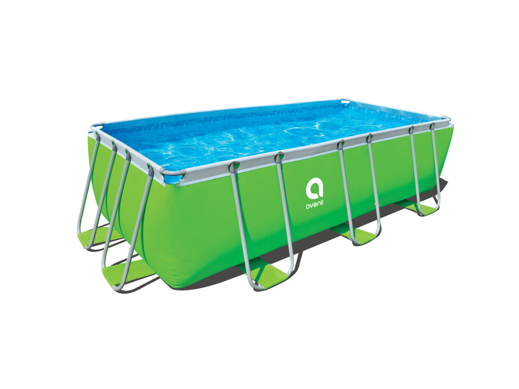 Bazén Frame Pool Passaat Green 400 x 200 x 99 cm – set