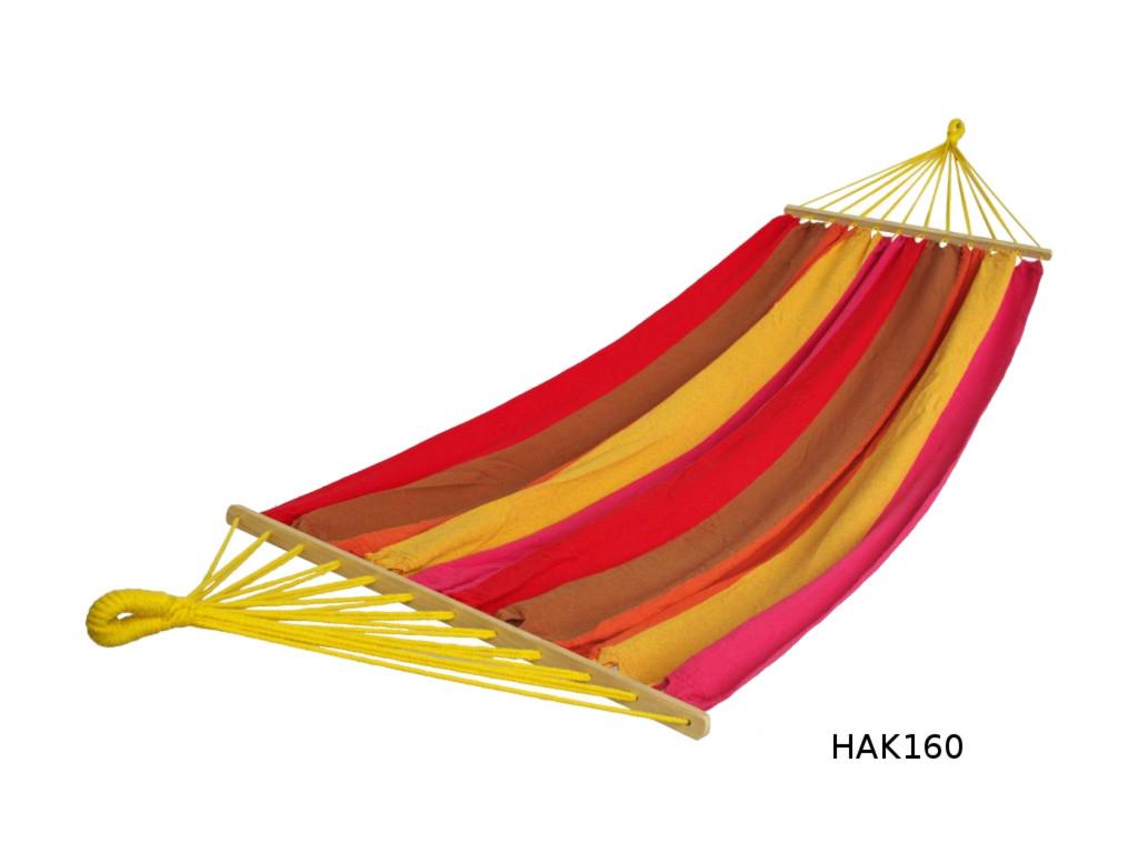 Houpací síť s tyčemi DUVLAN Barva: HAK160