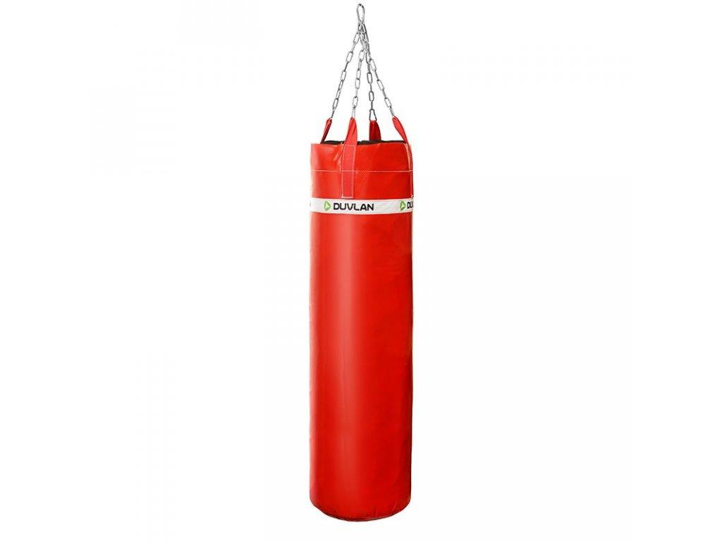 Boxovací pytel DUVLAN 150 x 40 cm Barva: červená