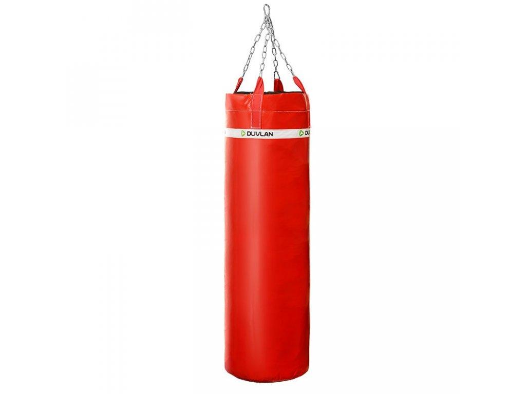 Boxovací pytel DUVLAN 180 x 40 cm Barva: červená