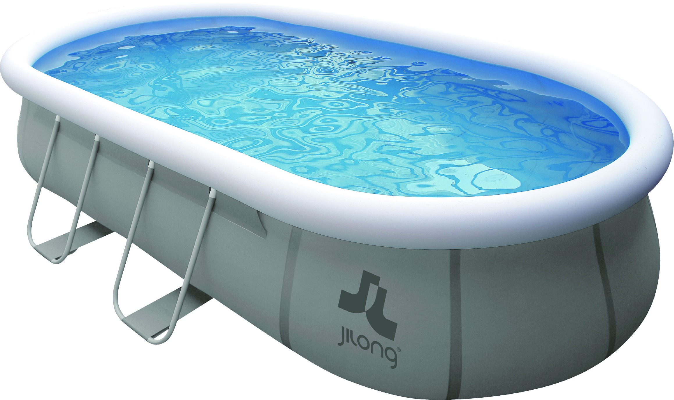Oválný bazén s konstrukcí 540 x 304 x 106 cm - set