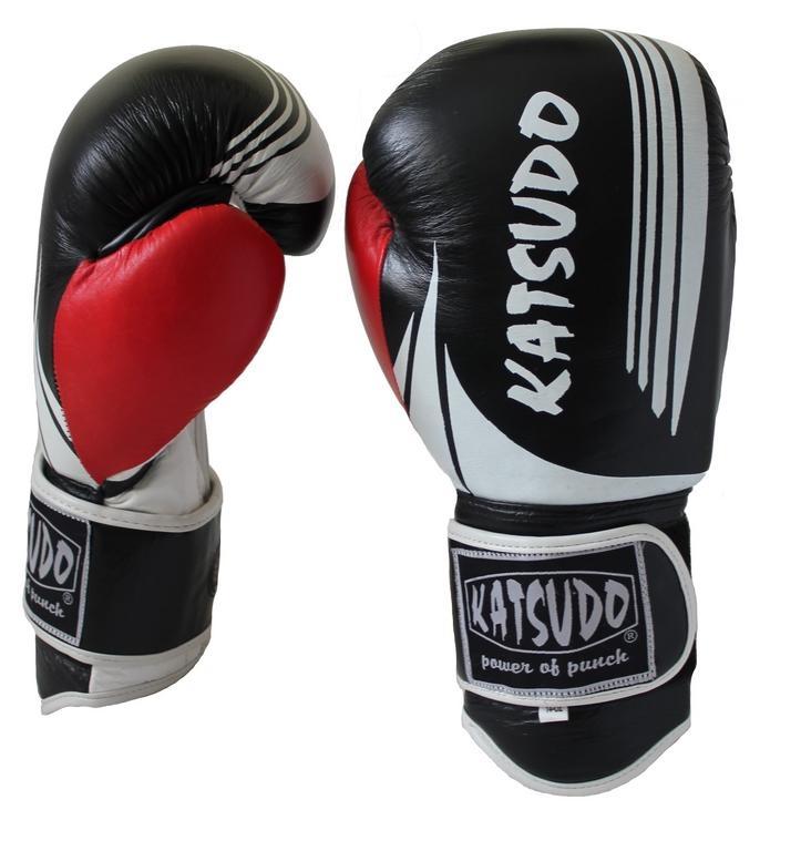 Boxerské rukavice Katsudo Ring II Barva: 16 oz