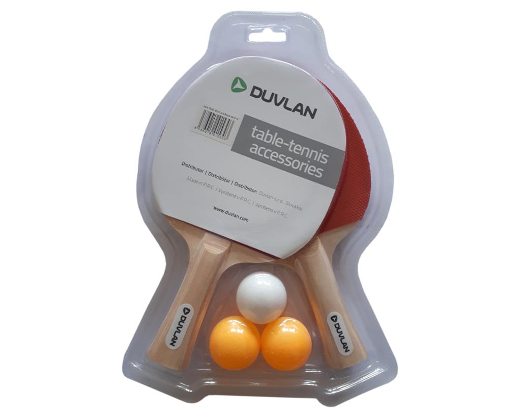 Pingpongový set DUVLAN Basic 2 + 3