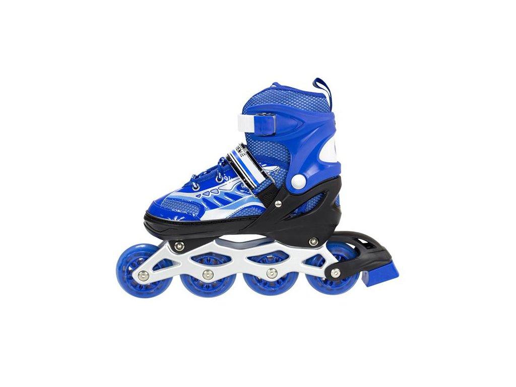 Kolieskové korčule Nils Extreme NA 1828 A modré (Veľkosť L (39-42))
