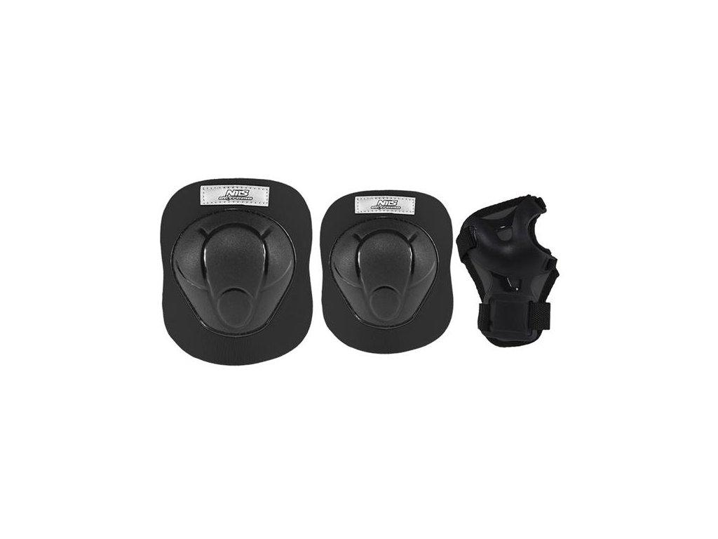 Súprava chráničov Nils Extreme H210 čierna (Veľkosť L)
