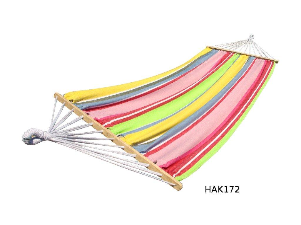 Hojdacia sieť s tyčami DUVLAN 220 x 130 cm (Farba HAK172)