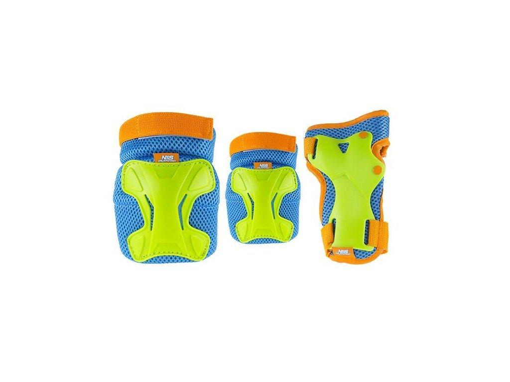 Nils Extreme H512 testvédő szett - kék-zöld