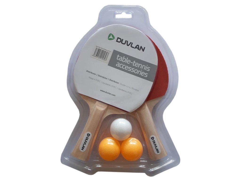 DUVLAN Basic 2+3 pingpongütő szett