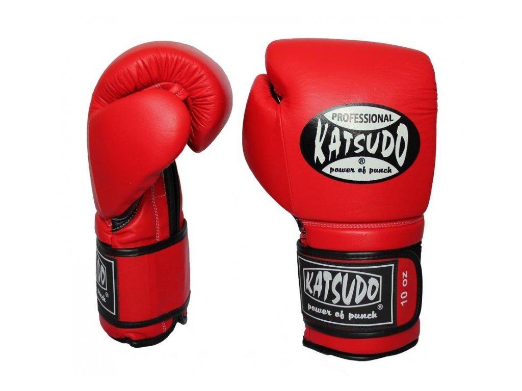 Katsudo Profesionál II piros boxkesztyű