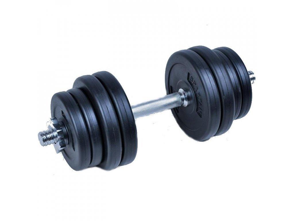 Egykezes cementes súlyzó Spartan 10 kg