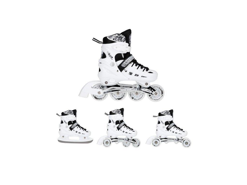 Nils Extreme 4in1 NH 10905 téli korcsolya fehér