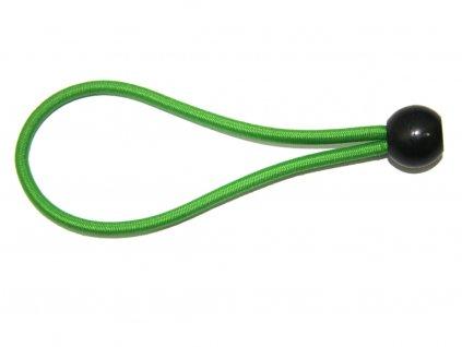 Skákacia guma pre trampolínu s držadlom DUVLAN Jumpee Green
