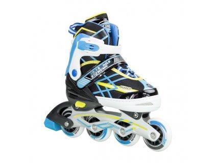 Detské kolieskové korčule Nils Extreme NA 1160 A modré (Veľkosť L (39-42))