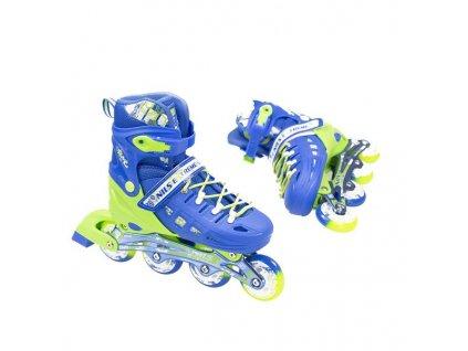Kolieskové korčule Nils Extreme NA 1005 A modré (Veľkosť L (38-41))
