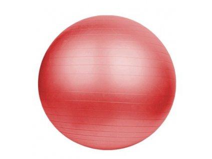 Gymnastická lopta DUVLAN 65 cm + pumpa (Farba červená)