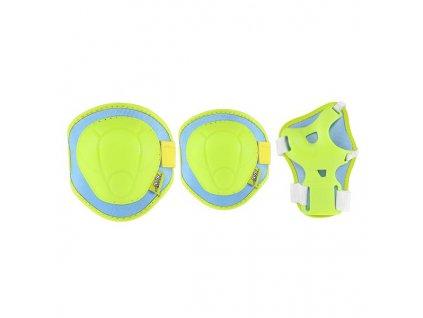 Súprava chráničov Nils Extreme H106 zeleno-modrá (Veľkosť M)