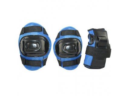 Súprava chráničov Nils Extreme H108 modrá (Veľkosť L)