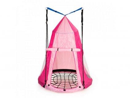 Ecotoys MIR6001 sátor hintafészekhez rózsaszín
