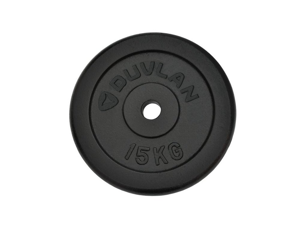 Závažie DUVLAN 15 kg oceľové