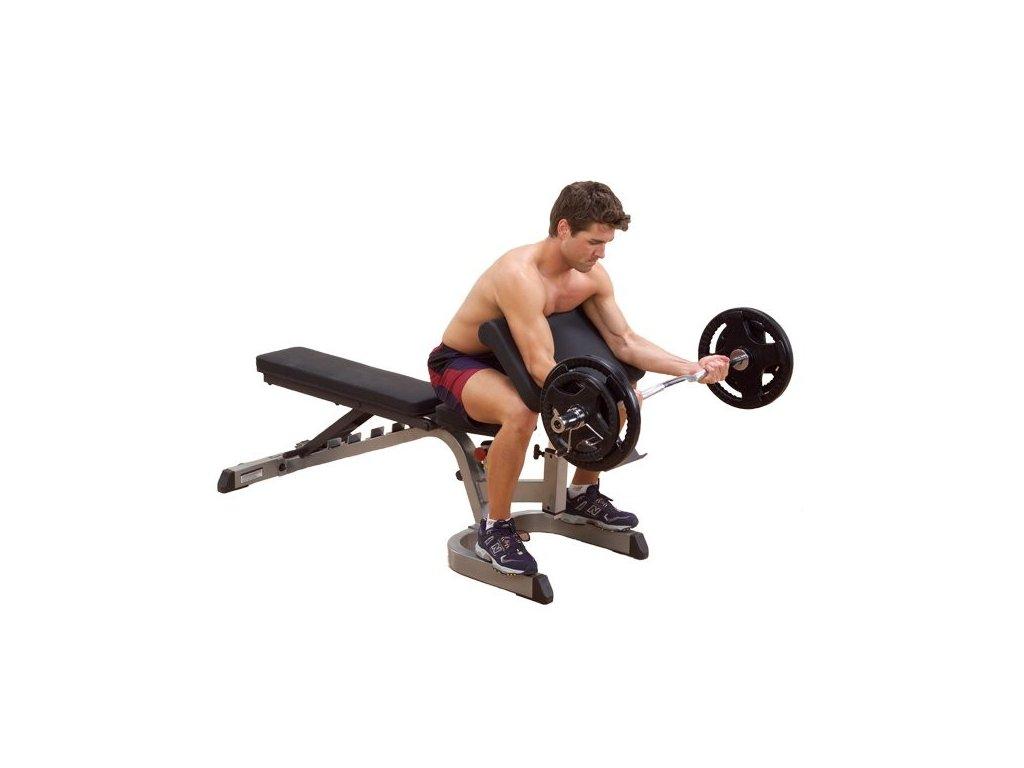 Opierka pre biceps Body-Solid GPCA1
