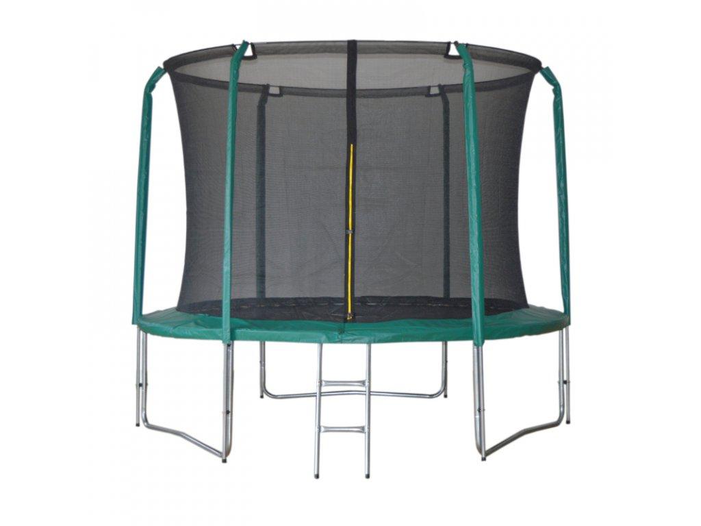 Trampolína DUVLAN SkyJump 305 cm + vnútorná sieť + schodíky
