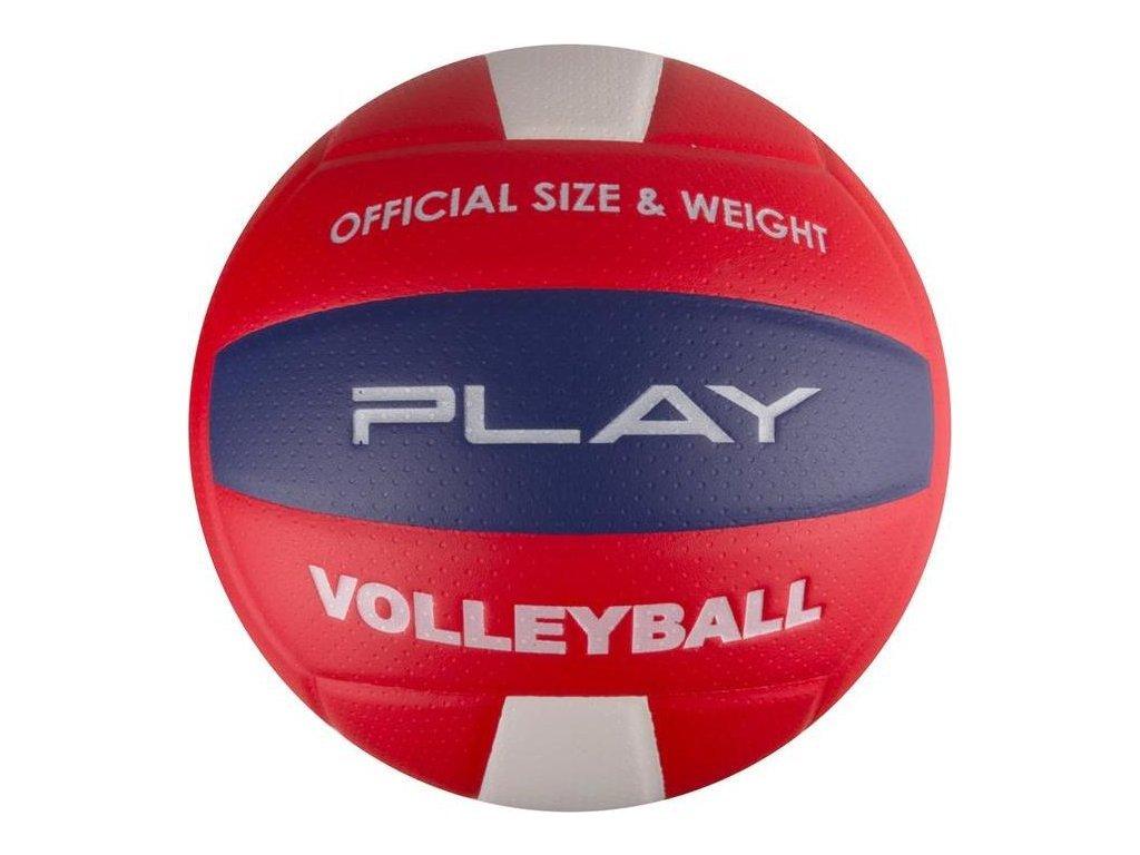 Volejbalová lopta PLAY II červená vel.5