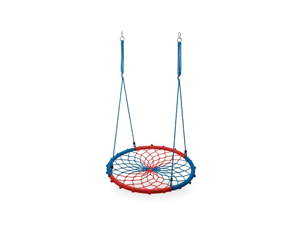 Kruhová hojdačka Nils Camp NB5039 modrá-červená