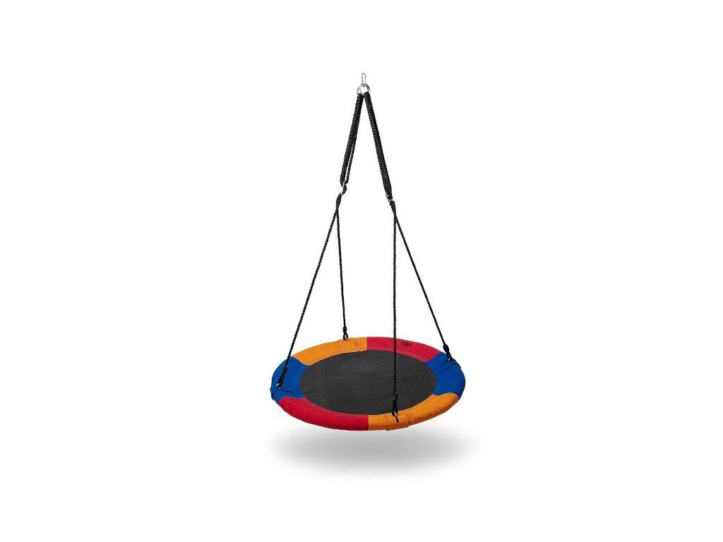 Kruhová hojdačka Nils Camp NB5003 modrá-červená-oranžová