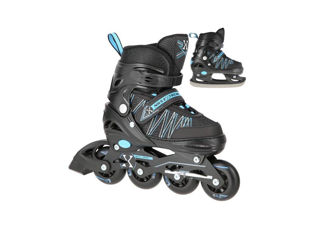 Kolieskové korčule Nils Extreme NH11912 A modré