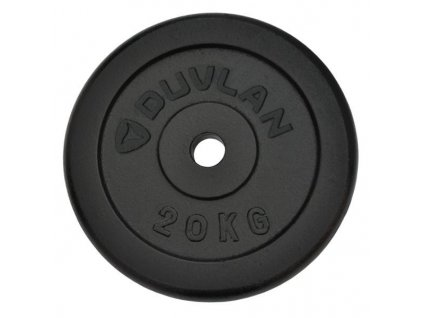 Závažie DUVLAN 20 kg oceľové