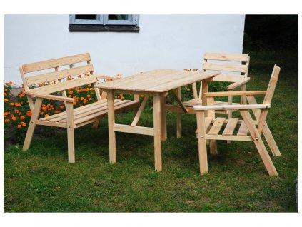 Záhradný drevený set Nordic
