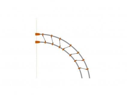 Tilted ladder