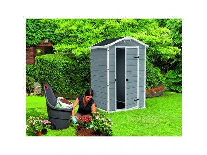 Záhradný domček Keter Manor 4x3  - 2. trieda