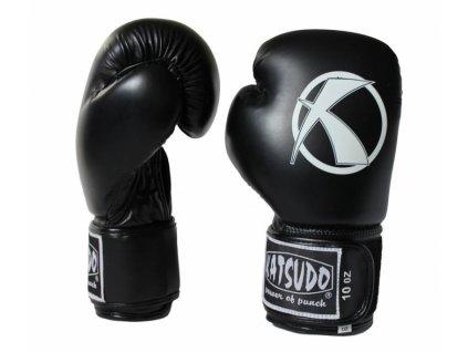 Boxovacie rukavice Katsudo Punch čierne