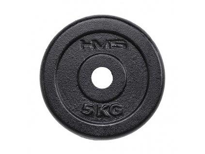 Závažie HMS 5 kg oceľové