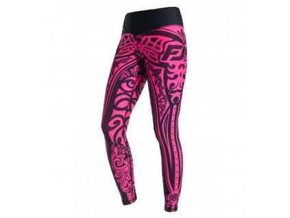 Fitness legíny FeelJ! Etno Pink