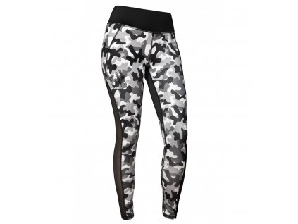 Fitness legíny FeelJ! Camo Grey