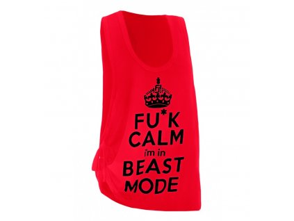 blouse red beast (1)
