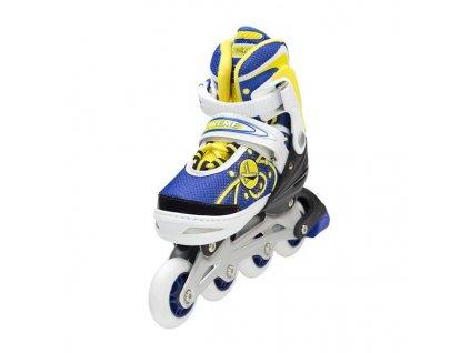 Detské kolieskové korčule Nils Extreme NA 1152 A žlté