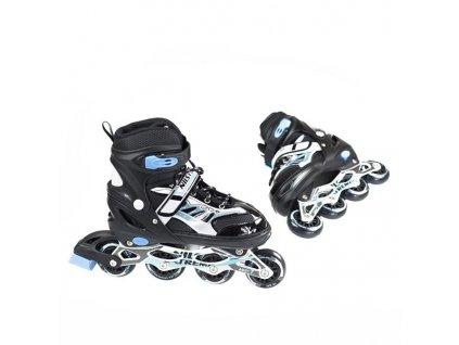 Kolieskové korčule Nils Extreme NA 1828 A čierne