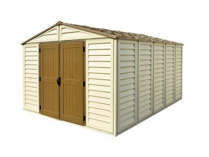 Záhradný domček Duramax WoodBridge Plus 10,5x13