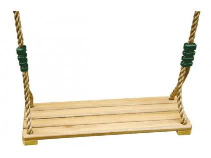 Drevená sedačka Trigano pre hojdačky Oliver a Baxter